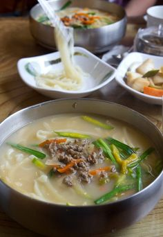kalguksu (handmade chopped noodles)