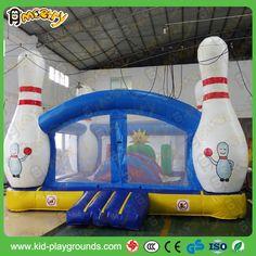 mobile bowling inflatable amusement park