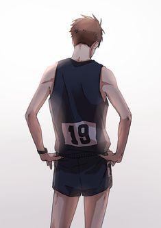Anime Manga, Anime Guys, Anime Art, Volleyball Anime, Another Anime, Manga Illustration, Illustrations, Bungo Stray Dogs, Manga Games