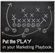 Put the Play in your Marketing Playbook #blog #brandcredible #video #contentstrategy