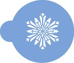 Crystal Snowflakes No.3 (Small) Cookie Stencils