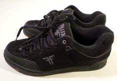 Mens Size 13 Signature Jamie Thomas Heritage FALLEN Skate Shoes, Sneakers, Black