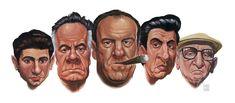Sopranos by on DeviantArt Dexter Seasons, Bada Bing, Woke Up This Morning, One In A Million, Blue Moon, Rats, Deviantart, Comics, Image