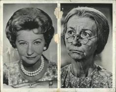 Granny before and after make up!