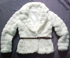 Pelliccia bianca ecologica