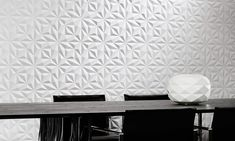 Eclipse, an exquisite three-dimensional textile wallcovering on non-woven backing in black & white. Decor, Contemporary Rug, Wall Coverings, Contemporary, Black And White, Home Decor, White