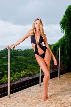 Candice Swanepoel Monokini Pictures