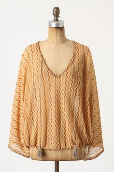 I want to make this one! Maricopa Point Top #anthropologie