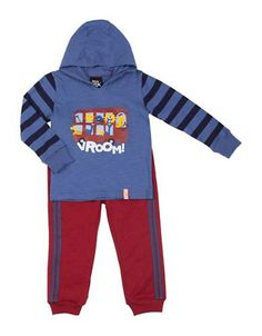 Boys Rock Boys 2-7 Graphic Hoodie and Pants Set  Red 2T