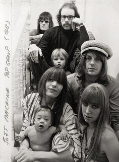 The Soft Machine, underground rock group.London 1967  Photo by Frank Habicht