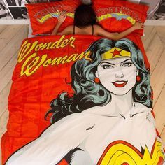 Because all the women in #HQ are Wonder Women all day Errrrday! Bedlinen from €18 #PrimarkHome #Homeware #WonderWoman #fashionbuyer