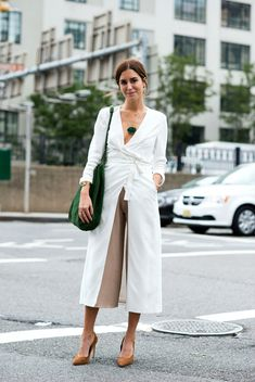 9 Awesome Blogger Outfit Ideas from Fashion Week via @WhoWhatWearUK