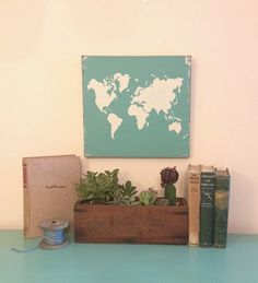 Wooden World Map Wall Art large wooden travel map, rustic wedding guestbook, world map