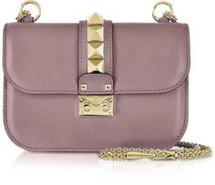 Valentino Lipstick Leather Glam Lock Shoulder Bag #accessories #valentino #ShoulderBag