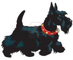 scottie dog graphic