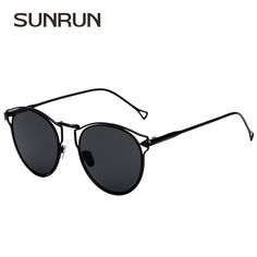 4ca6acbf78 SUNRUN Fashion Arrow Sunglasses Women Brand Designer Cat Eye Sun Glasses  Metal Frame Gradient Lens Glasses UV400 2032