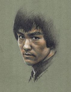 A Great Tribute to Bruce Lee Wow ! This is One Of the Best Bruce Lee Drawing I've ever seen.Love the Likeness.
