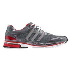 253fa3896 Men s adidas supernova Glide 5 Running Shoe - Grey Silver 10