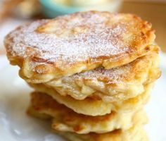 Polish Apple pancakes - this recipe is amazing! Polish Apple pancakes - this recipe is amazing! Brunch Recipes, Sweet Recipes, Dessert Recipes, Breakfast Dishes, Breakfast Recipes, Polish Breakfast, Apple Breakfast, Morning Breakfast, Pancakes And Waffles