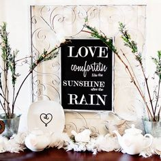 Valentine's Day Mantel and Shelf Displays from Better Homes & Gardens