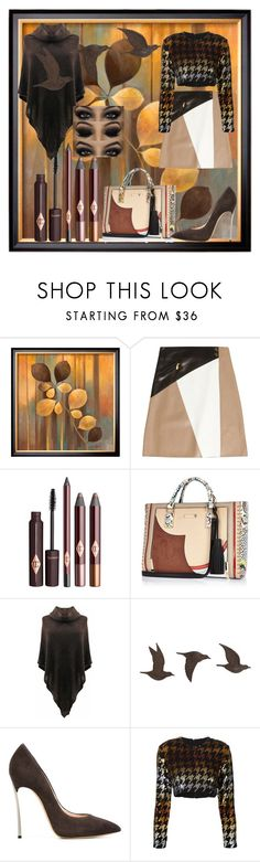"""""""Birds In Flight"""" by bren-johnson ❤ liked on Polyvore featuring Michael Kors, River Island, Universal Lighting and Decor, Casadei and Ashish"""