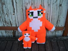 how to make a stuffed stampy cat from minecraft - Google Search