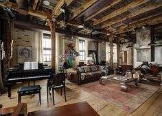Not having this loft is giving me a midlife crisis! It is wonderful!! Just add a dog and I'm good.