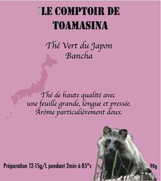 Venez découvrir et acheter le thé Japan Bancha du Comptoir de Toamasina, un thé cultivé au Japon avec le savoir faire des producteurs japonais.  Vous allez découvrir un thé qui sera riche en goût avec de belle feuille longue et délicatement pressée Japan, Best Green Tea, Counter Top, Japanese Language, Japanese