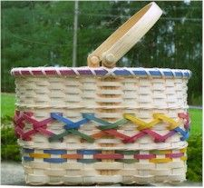 New Years basket