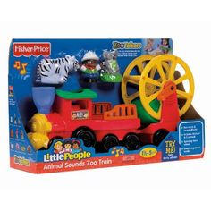 Fisher Price Little People Animal Sounds Farmer and Animals Fisher-Price http://www.amazon.com/dp/B002P8W116/ref=cm_sw_r_pi_dp_719awb1MHD22A
