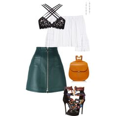 sweet and sassy by anelanaiara on Polyvore featuring polyvore, fashion, style, Carolina Herrera, Carven, Agent Provocateur, Dsquared2, Hayward, Tacori and clothing