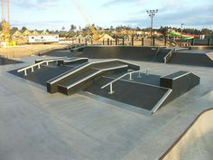 exterior skateboard parks - Google Search