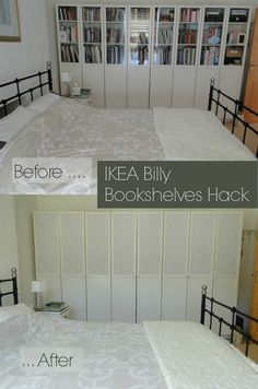 IKEA Billy Bookselves Hack with Marcel Wanders Heart and Tulip Wallpaper for Graham & Brown
