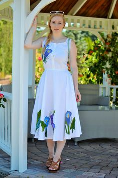 Vancouver Vogue blog: southern france style with midi dress