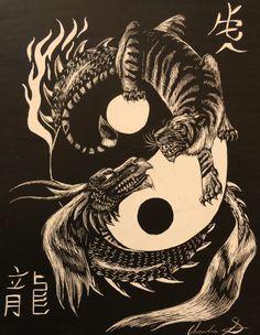 tiger dragon - Google Search