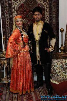 Men and women's national costumes of Azerbaijan