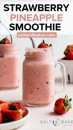 Acai Smoothie, Juice Smoothie, Smoothie Drinks, Healthy Smoothies, Healthy Drinks, Smoothie Recipes, Drink Recipes, Smoothie Bowl, Eating Healthy
