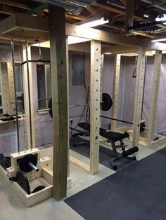 Homemade Power rack - Power Rack - Home Gym