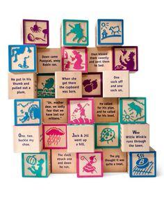 Nursery Rhyme Block Set
