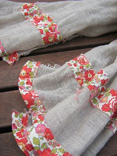 another diy linen scarf