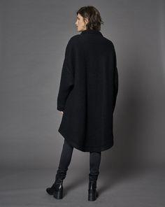 Black Coat - MM6 - Keen Stockholm - Back