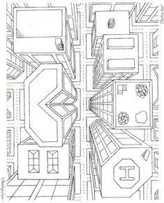 city bird's eye view drawing | Response to critique me please! Oct. 2nd, 2009 @ 10:56 AM Reply