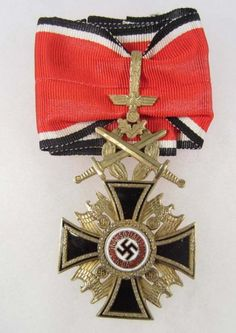 Deutscher Orden (Auszeichnung) German Order (decoration) Only eleven confirmed recipients of this posthumous award was given out between 1942 and 1945. (via reinhardhimmler)