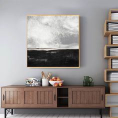 Large abstract art canvas oversize wall art canvas large abstract painting on canvas original artwork landscape painting pink gray art oil Colorful Paintings, Your Paintings, Beautiful Paintings, Original Paintings, Orange Painting, Black And White Painting, Black White, Abstract Landscape Painting, Landscape Paintings