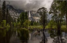 Yosemite is even more gorgeous on a rainy day. Bad weathers the best weather!
