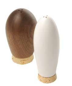 Real Simple - Green Goods for Thanksgiving Dinner, 11/10/2009, Reclaimed Wood Salt and Pepper Shakers by Bambeco