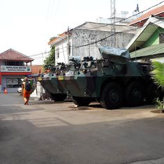 Mampang security vehicles