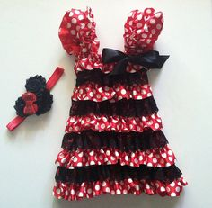 Minnie mouse inspired petti
