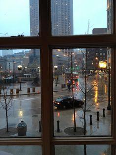 Puplic square, Cleveland ohio
