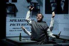 Marc Labrèche, Les aiguilles et l'opium - Robert Lepage, 2013 © Nicola Frank Vachon